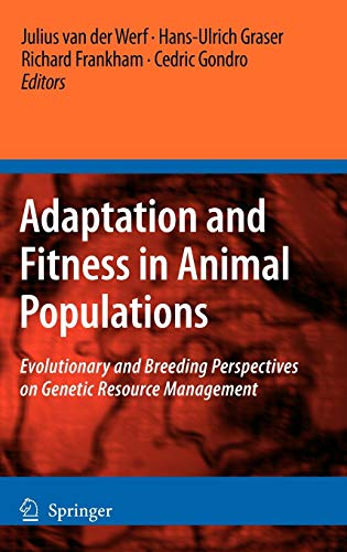 PDF Adaptation and Fitness in Animal Populations Evolutionary and Breeding Perspectives on Genetic Resource Management