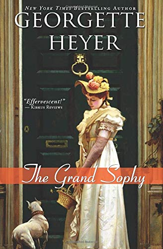 The Grand Sophy by Georgette Heyer image copyrighted by Amazon