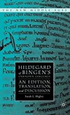 cover of Hildegard of Bingen's Unknown Language
