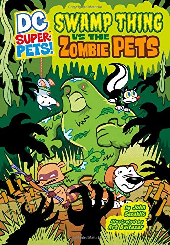 Swamp Thing vs the Zombie Pets cover