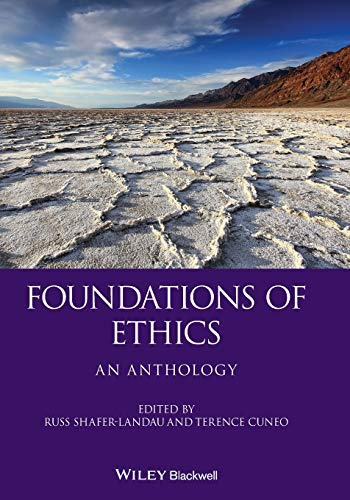 Foundations of Ethics: An Anthology Book Cover Picture