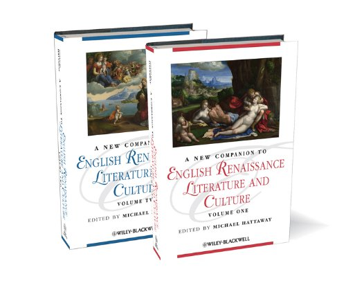 PDF A New Companion to English Renaissance Literature and Culture Blackwell Companions to Literature and Culture 2 Volume Set