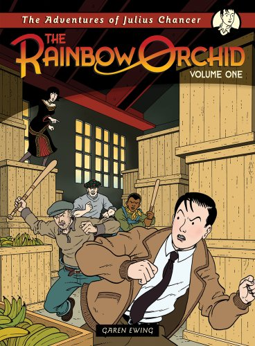 The Rainbow Orchid: The Adventures of Julius Chancer, Volume 1 cover