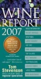 Book Cover: Wine Report 2007 By Tom Stevenson by Tom Stevenson