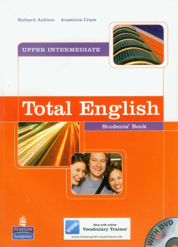 Total English Upper Intermediate: Students' Book and DVD Pack (Total English)