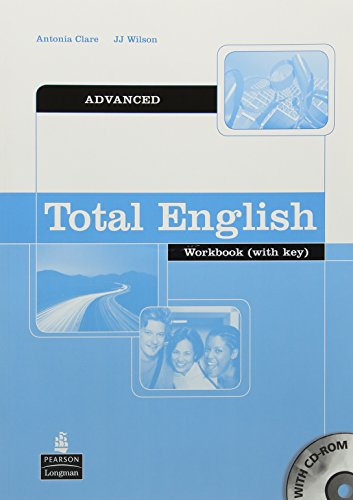 Total English: Advanced Workbook with Key and CD-Rom: Advanced Workbook with Key