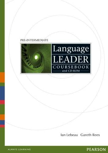 Intermediate Language Leader: Workbook/Coursebook/Test Master CD-ROM