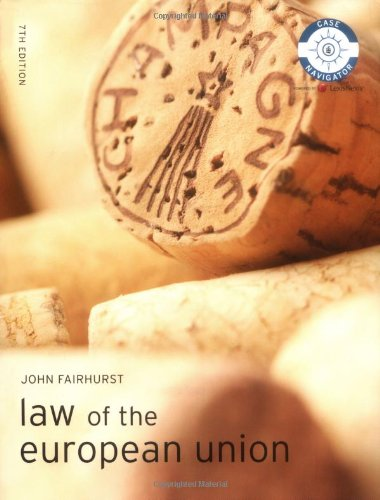 Law of the European Union (Foundation Studies in Law)