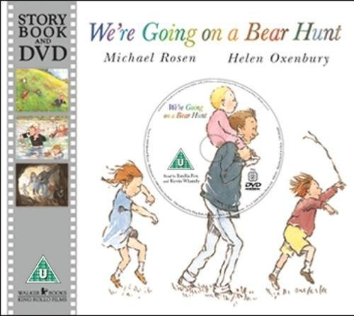 We're Going on a Bear Hunt (Book & DVD)