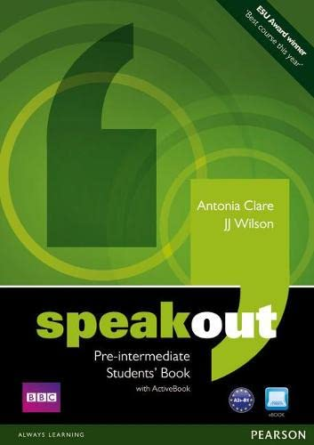 Speakout. Pre-Intermediate Level