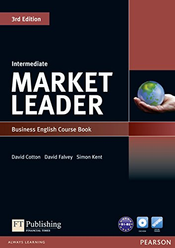 Market Leader Intermediate Coursebook and DVD-Rom Pack