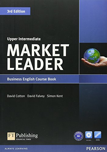 Market Leader Upper Intermediate Coursebook & DVD-Rom Pack