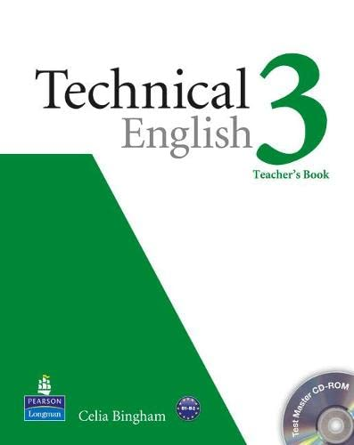 Technical English Level 3 Teacher's Book/Test Master CD-Rom Pack