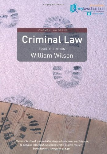 Criminal Law Mylawchamber Premium Pack (Longman Law Series)