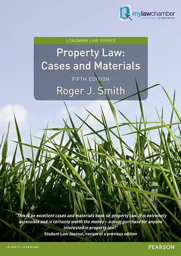 Property Law (Longman Law)