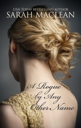 Book A Rogue by Any Other Name - a photograph close up of a woman with her hair up looking away from the camera