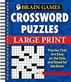 Brain Games Crossword Puzzles Large Print (Brain Games (Unnumbered))
