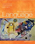 cover of Intro to Language