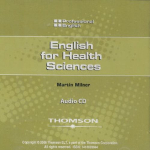 English for Health Sciences: Audio CD (Professional English)