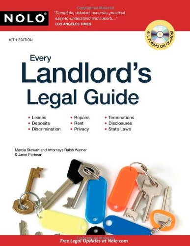 Every Landlord's Legal Guide Janet Portman, Marcia Stewart, Ralph E. Warner
