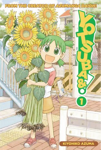 Yotsuba&#038;! Book 1 cover