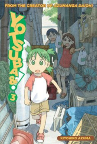 Yotsuba&#038;! Book 3 cover