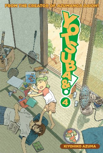Yotsuba&#038;! Book 4 cover