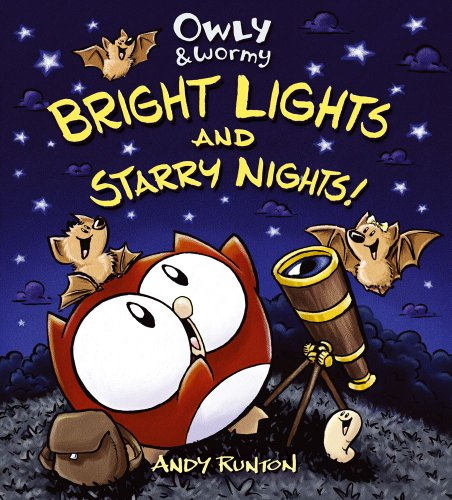 Owly &#038; Wormy: Bright Lights and Starry Nights cover
