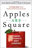 Book Cover: Apples Are Square by Thomas D. Kuczmarski