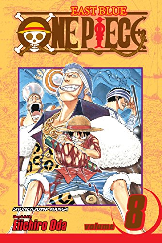 One Piece Book 8 cover