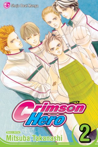 Crimson Hero Book 2 cover