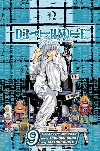 Death Note Book 9 cover