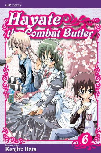 Hayate the Combat Butler Book 6 cover