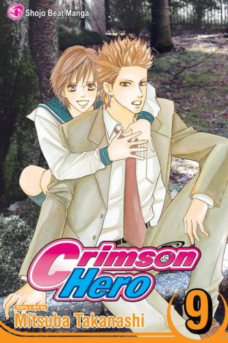 Crimson Hero Book 9 cover
