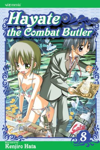 Hayate the Combat Butler Book 8 cover
