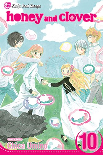 Honey and Clover Book 10 cover