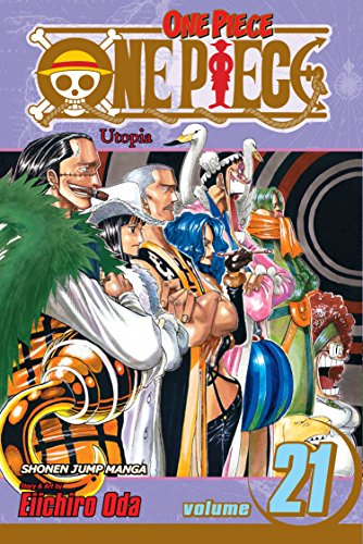 One Piece 21 cover