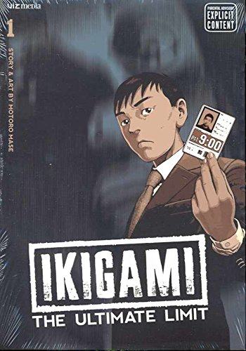 Ikigami: The Ultimate Limit Book 1 cover