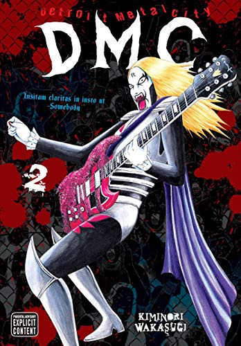 Detroit Metal City Book 2 cover