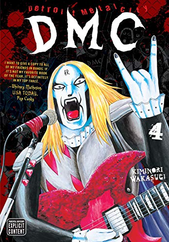 Detroit Metal City Book 4 cover