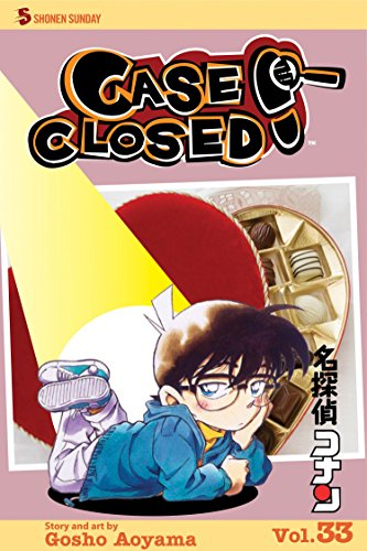 Case Closed Book 33 cover
