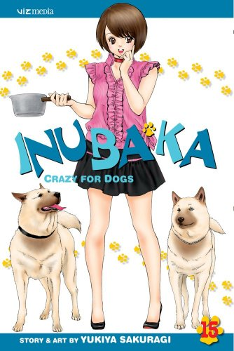 Inubaka: Crazy for Dogs Book 15 cover