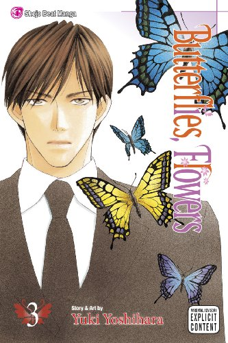 Butterflies, Flowers Book 3 cover