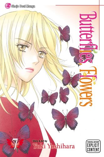 Butterflies, Flowers Book 7 cover