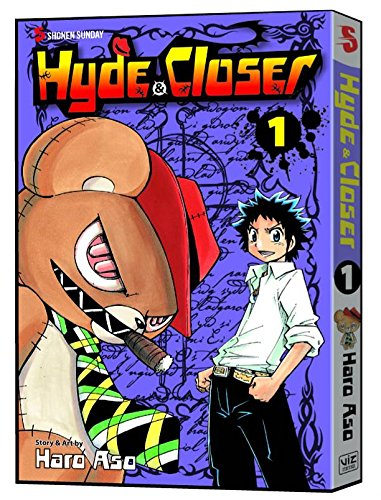 Hyde & Closer Book 1 cover