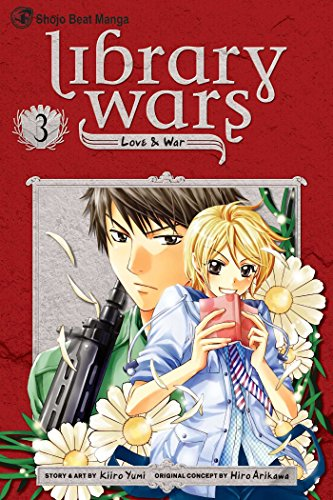 Library Wars Book 3 cover