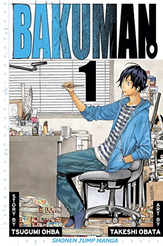 Bakuman Book 1 cover