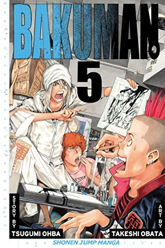 Bakuman Book 5 cover