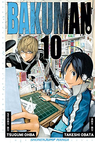 Bakuman Book 10 cover