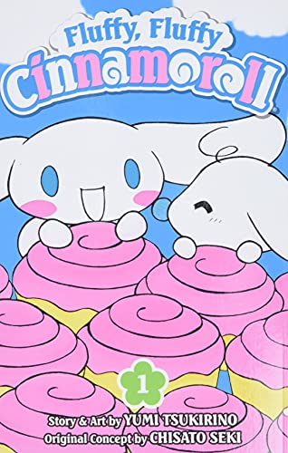 Fluffy, Fluffy Cinnamoroll Book 1 cover
